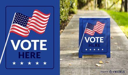 Vota aquí firma