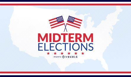 Diseño de elecciones parciales de USA