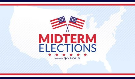 USA midterm elections design