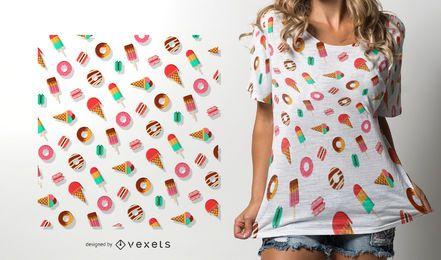 Zucker Süßigkeiten Muster