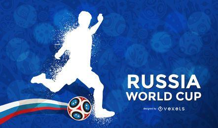 Fundo da Copa do mundo de Rússia