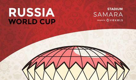 Estadio de la copa del mundo de Samara