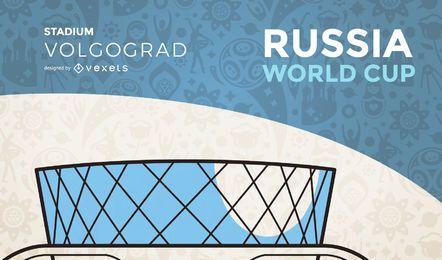 Estádio da copa do mundo de Volgogrado