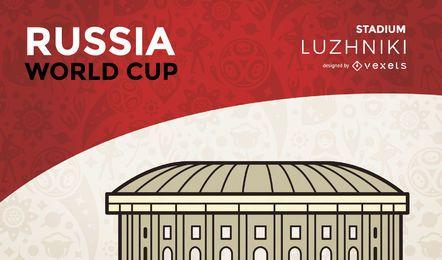 Estádio da copa do mundo Luzhniki