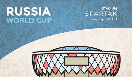 Estadio de la copa del mundo Spartak