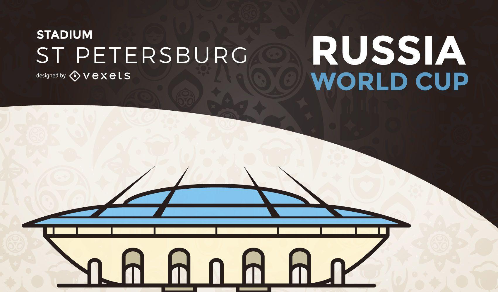 Petersburg world cup stadium
