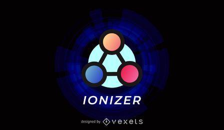 Plantilla de logotipo Ionizer