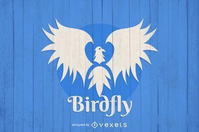 Plantilla de logotipo de Birdfly