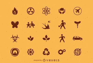 Various icons set