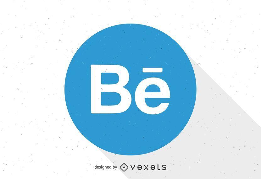 Plantilla de logotipo de Behance