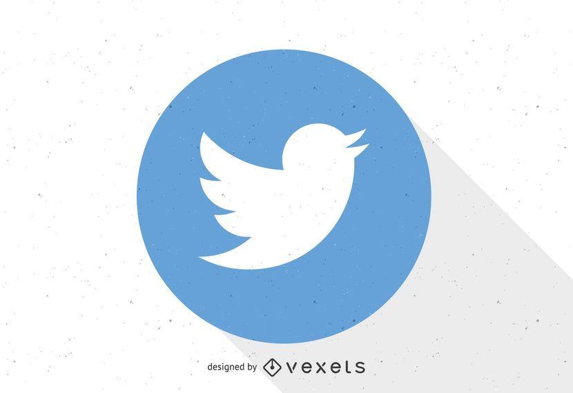 Modelo de logotipo do Twitter