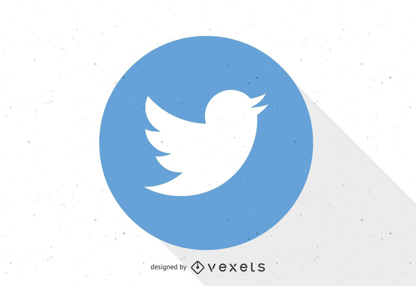 Plantilla de logotipo de Twitter