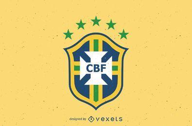 Logotipo da confederação de futebol do Brasil