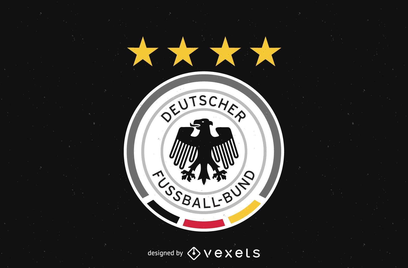 German football team logo