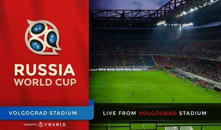 Pantalla de tv de la copa mundial de fútbol