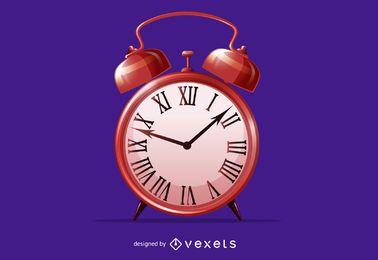 Vector de reloj despertador