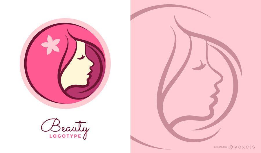 Logotipo de belleza