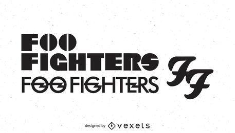Logotipo dos lutadores de Foo