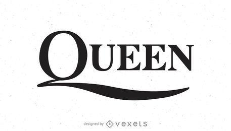 Logo de la banda reina