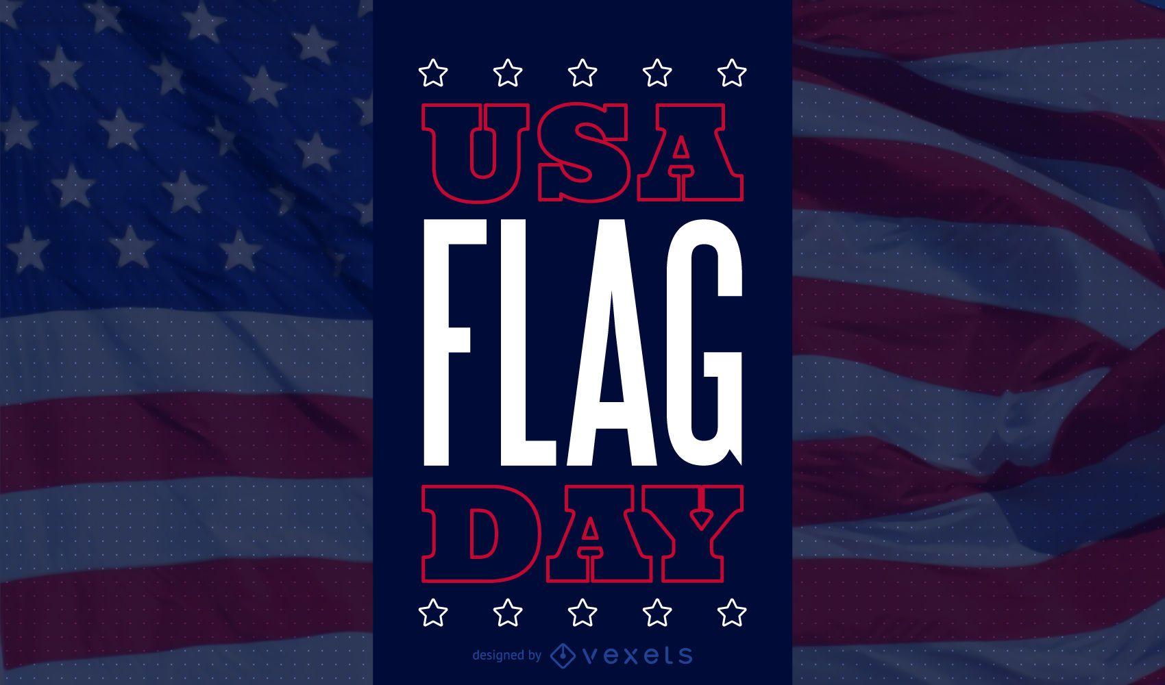 United States flag day background