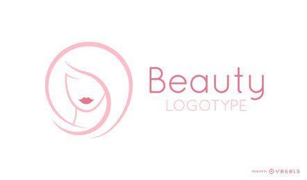 Plantilla de logotipo de belleza