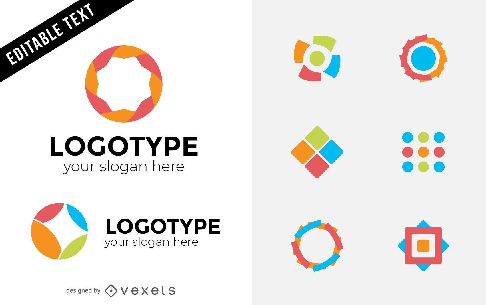 Design de elementos de logotipo