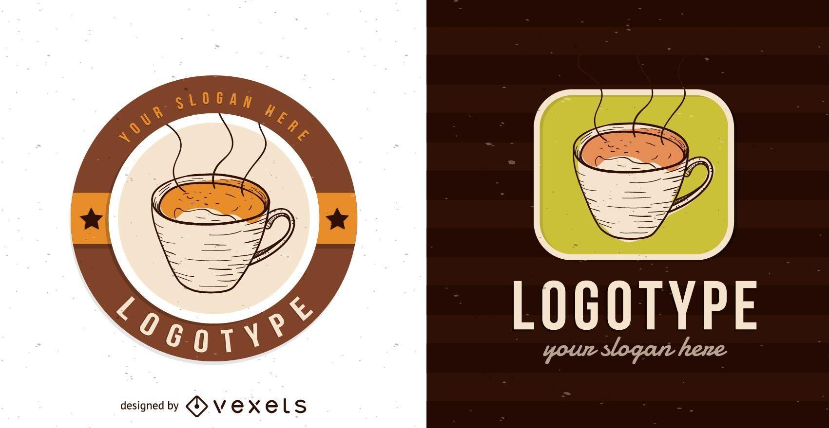 Cafeteria Logo Vorlage Design