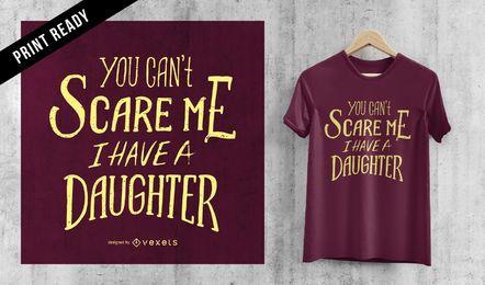 Diseño de camiseta del día del padre.