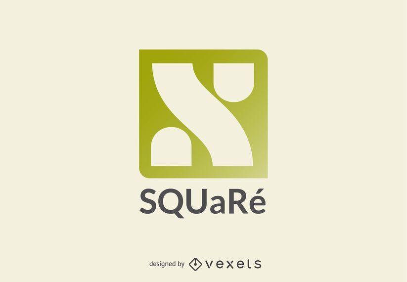 Quadratische Logo-Vorlage