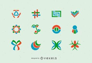 Logo abstrakten Vektor