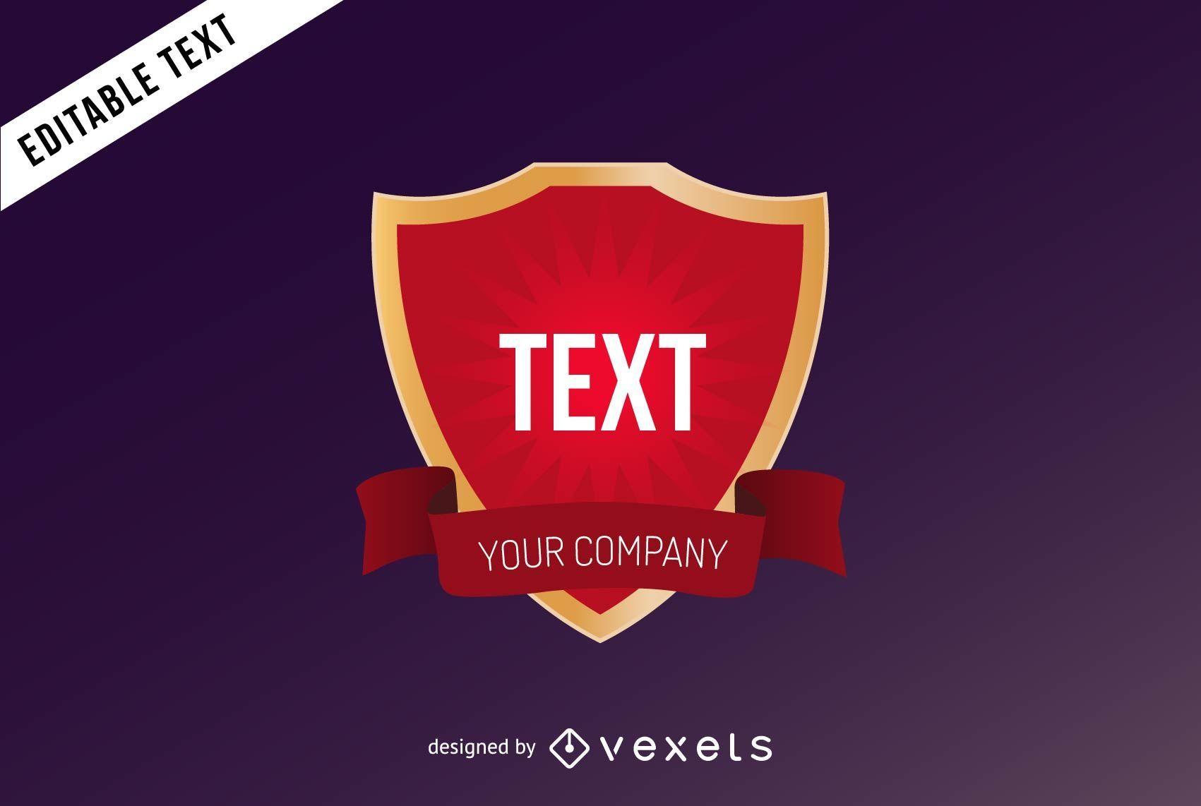 Crest Logo Template Design Download Large Image 1701x1142px License User