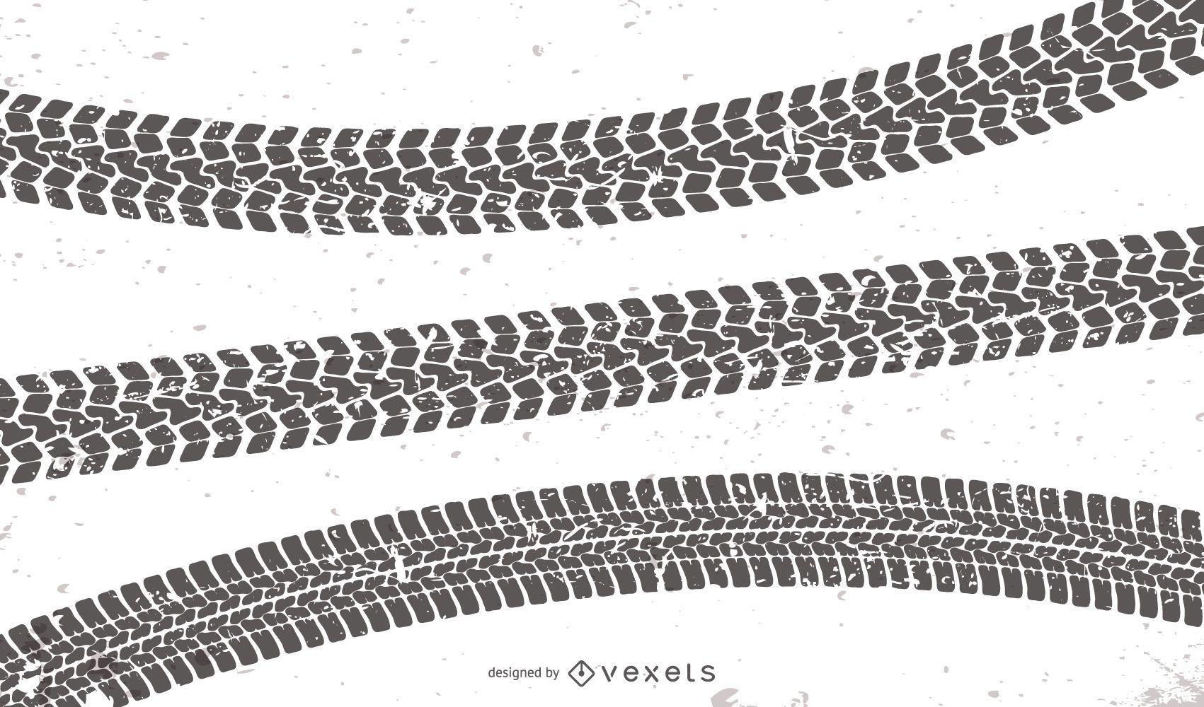 Marcas de pneus definidas