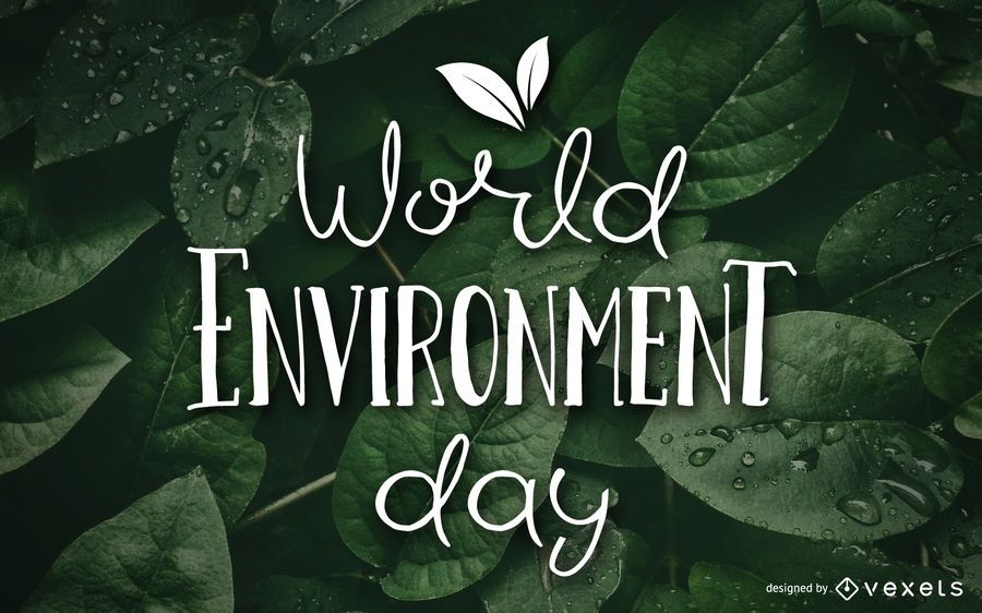 Diseño de papel tapiz del día mundial del medio ambiente