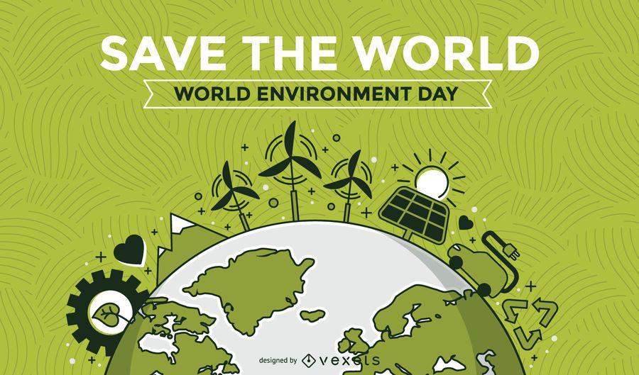 Sustainable development background