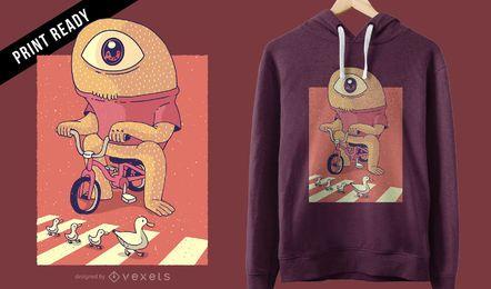 Diseño de camiseta Cyclops