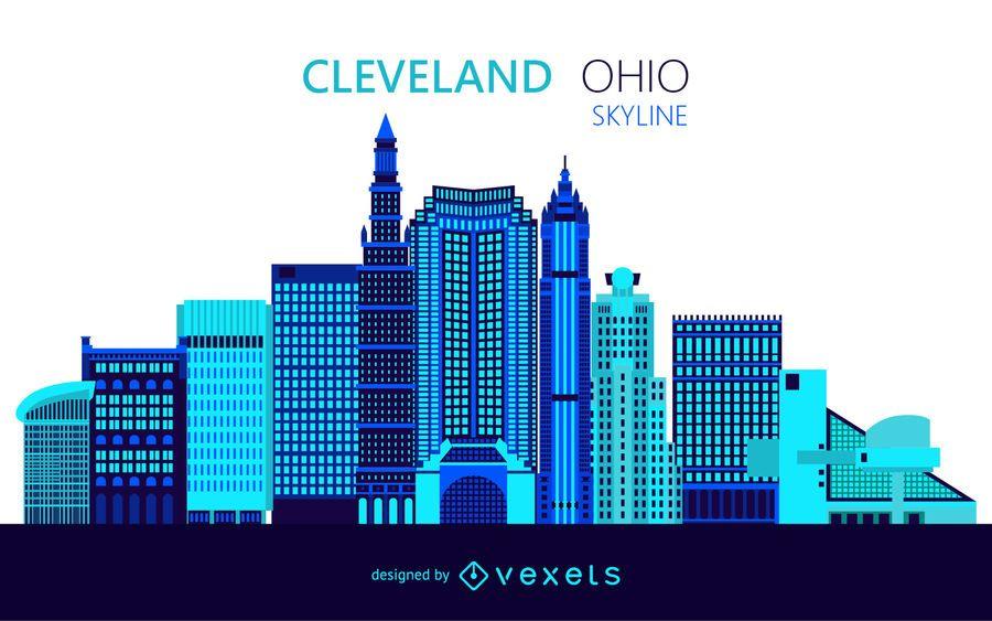 Ilustración del horizonte de Cleveland