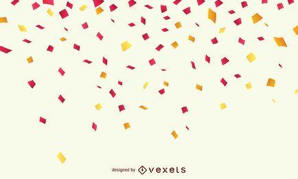 Fondo de celebración de confeti