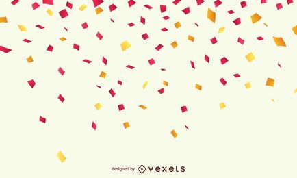 Fundo de celebração de confete
