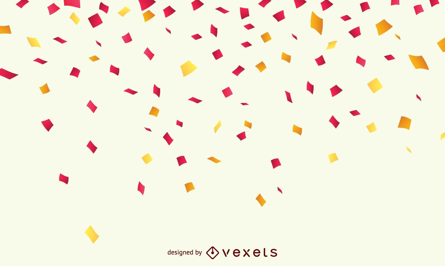 Confetti celebration background
