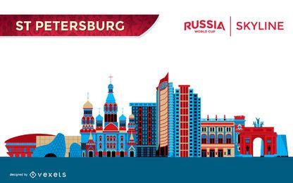 Skyline de São Petersburgo
