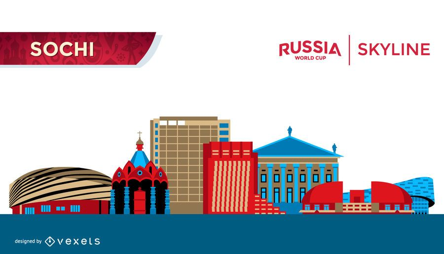 Plana Sochi Rússia horizonte