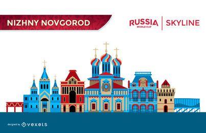 Nizhny Novgorod skyline