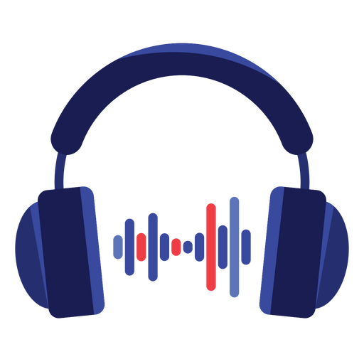 Audio headphones icon Transparent PNG