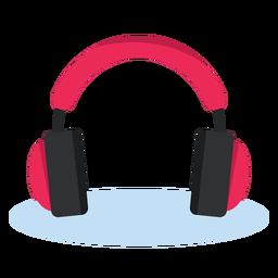 Audiokopfhörer-Ikonenmusik