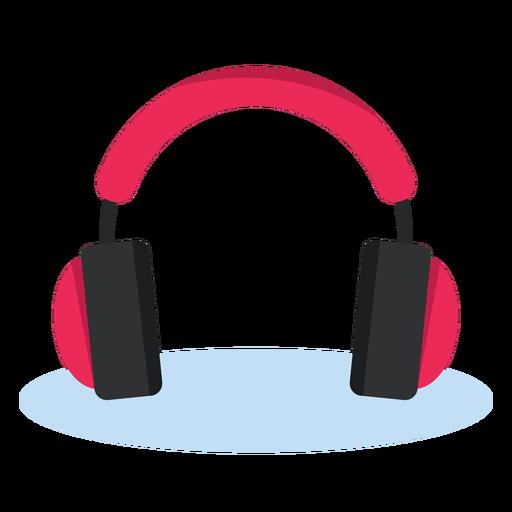 Música de icono de auriculares de audio