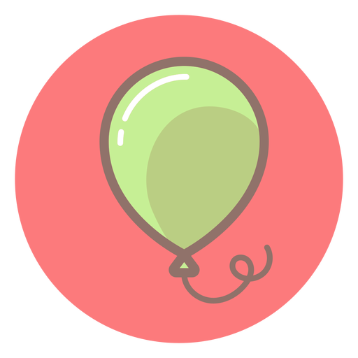 Baby balloon circle icon Transparent PNG