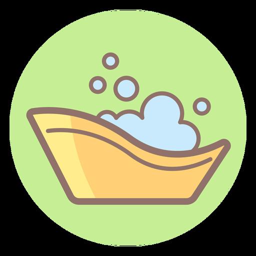 Icono de círculo de bañera de bebé Transparent PNG