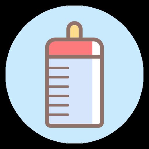 Icono de círculo de biberón Transparent PNG