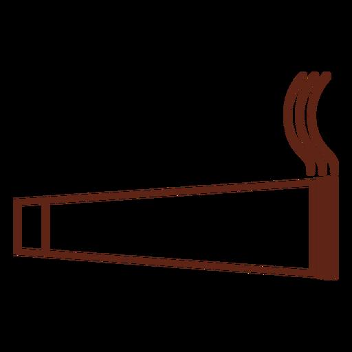 Cannabis cigar stroke element
