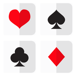 Card suites icon
